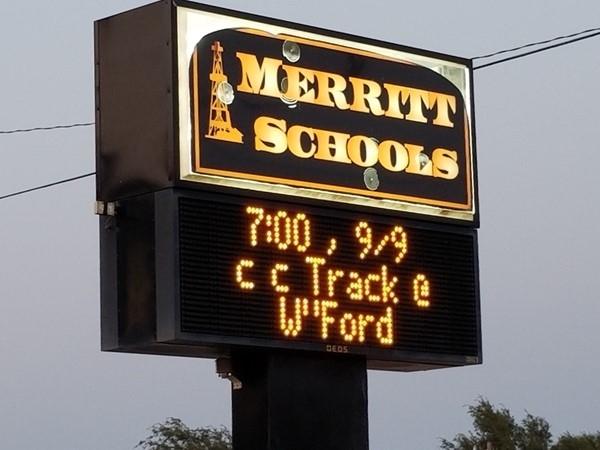 Merritt Schools is home of the Oilers