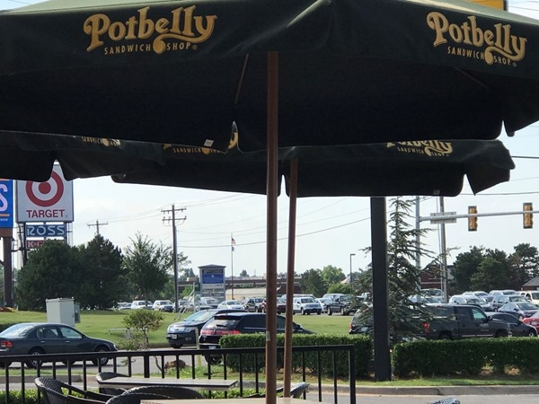 Don't let the name Potbelly scare you! I'm still not putting on weight. Great NW OKC snacks