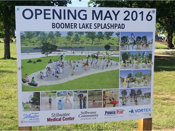 Boomer Lake SplashPad recently opened in Boomer Lake