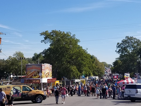 Always a great turnout for the annual Cordell Pumpkin Festival