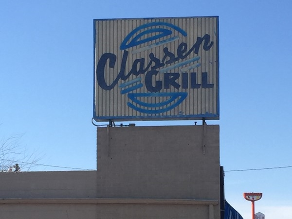 Classen Grill is a popular local eatery