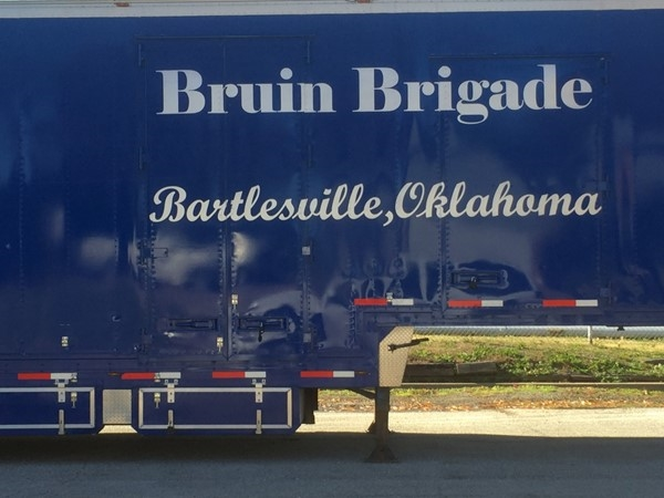 The Bruin Brigade, the pride of Bartlesville High School