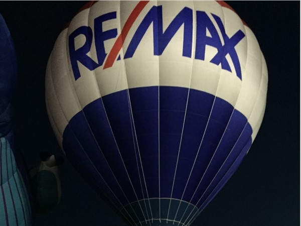 REMAX posting the great Red, White & Blue at the Poteau Pirate football game