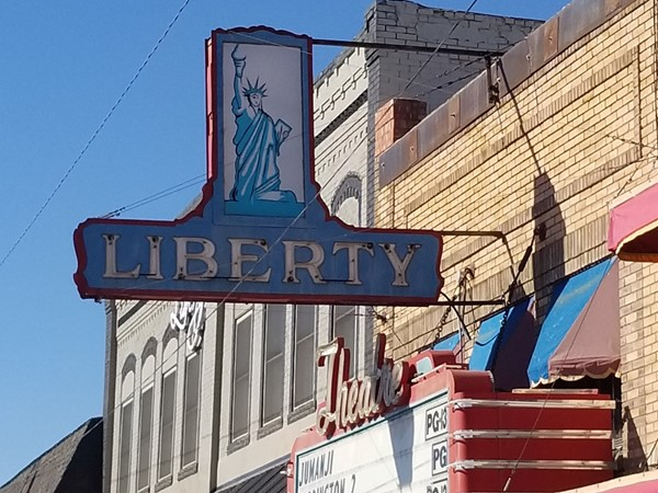 Liberty Theater in downtown Carnegie