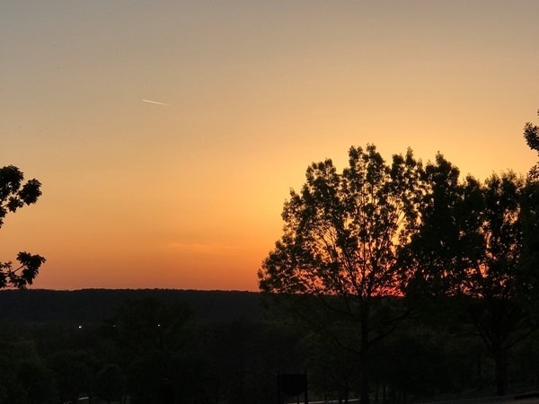Tulsa Sunset from historic Southern Hills Country Club