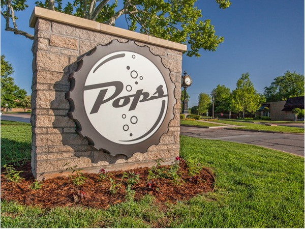 Pops in Nichols Hills Plaza serves chicken fried steaks, hamburgers, shakes, and over 700 pops