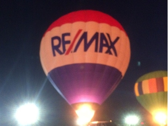 REMAX Balloon at Poteau's Balloon Fest 2014