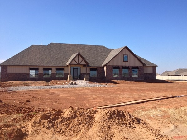 New clubhouse/recreation center going up at The Grove in Edmond. You'll love this community