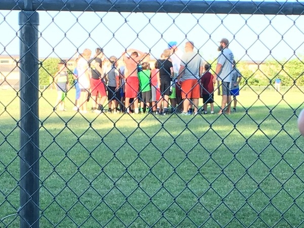 Youth league football agility and speed camp has started in Choctaw