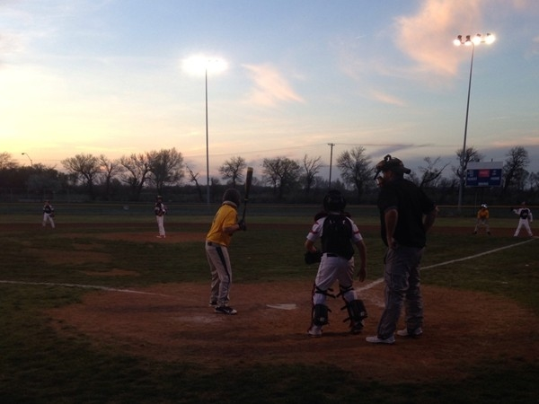 I love the small-town, family atmosphere during our Little League games at Crosslin Park