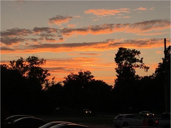 Beautiful Bixby sunset