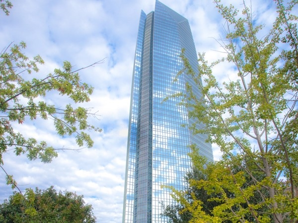 Grab a drink or dinner on the 49th floor of the biggest building in OKC. The view is one-of-a-kind