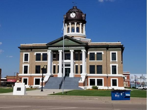Beautiful Washita County Courthouse