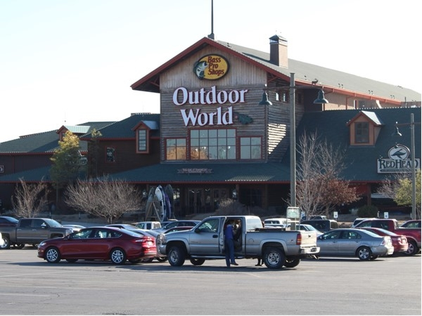 Bass Pro Shops in Broken Arrow offers the outdoorsman everything he (or she) desires