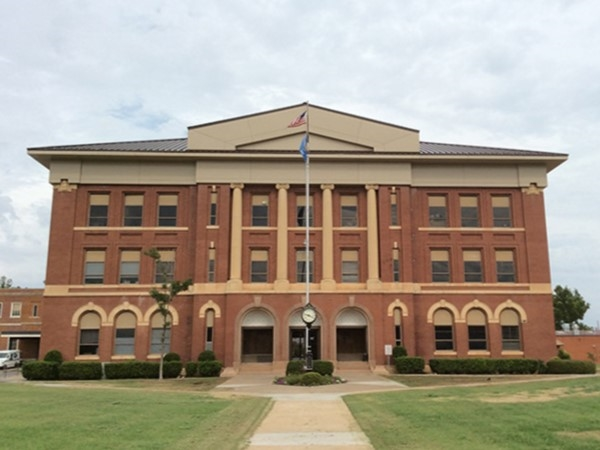 Greer County Courthouse in Mangum