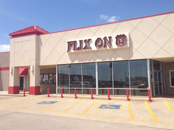 Flix On 6 movie theater has all new releases and is fully digital