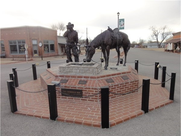 Oologah Ok - home to the Cherokee Kid, Will Rogers himself