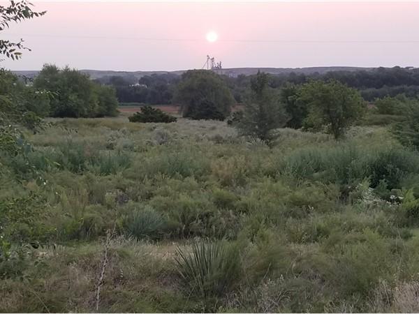 Beautiful sunrise over Cheyenne