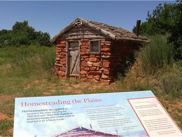Go for a walk and learn about history at the Washita Battlefield National Historic Site