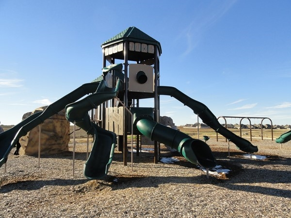 Here's a close up view of the community playground in The Grove. Walk from your home