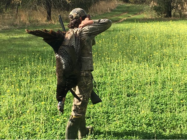 Turkey season is open in Haskell County! Take a kid hunting