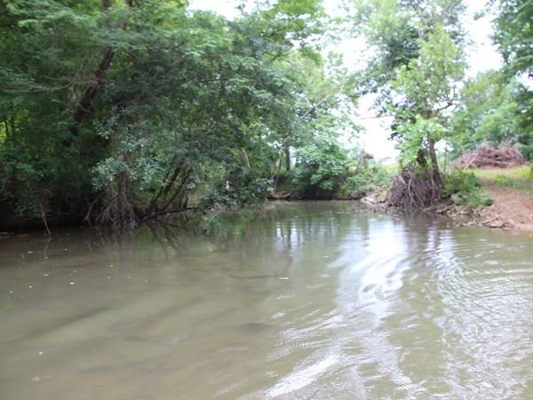 Always flowing waters, year around creek, backyard living. LeFlore County, Eastern Oklahoma