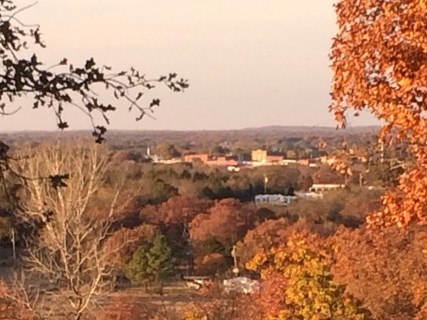 Atoka from the hill