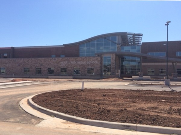 The new Heartland Middle School