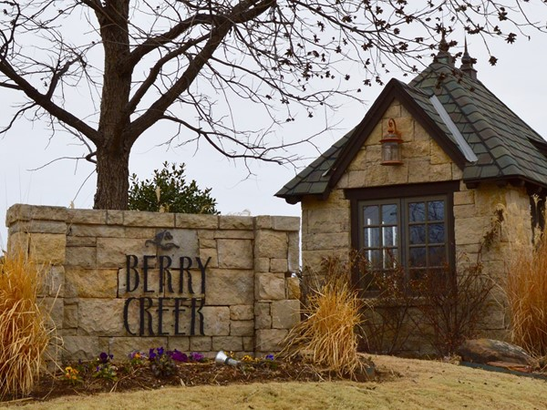 Beautiful Berry Creek subdivision in Stillwater