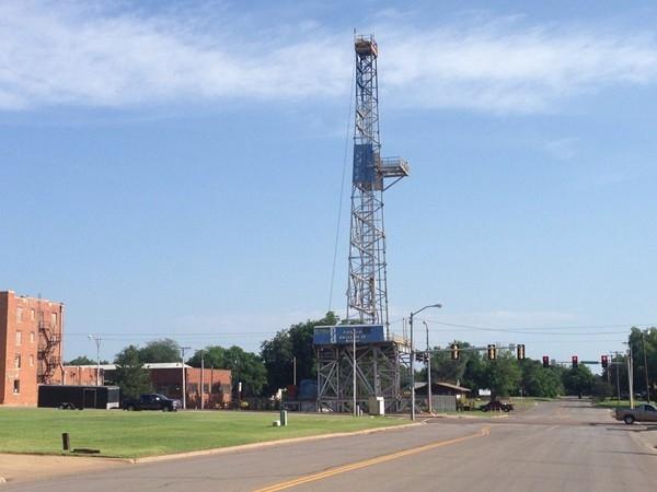 Visit the record breaker, Parker Drilling Rig #114