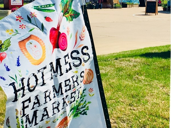 Owasso's new and growing,The Hot Mess Farmers Market, kicked off today