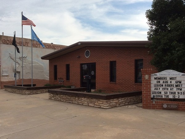 Local and active American Legion hall