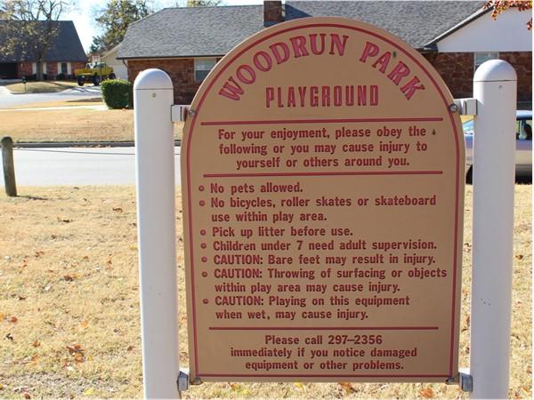 Playground in Woodrun
