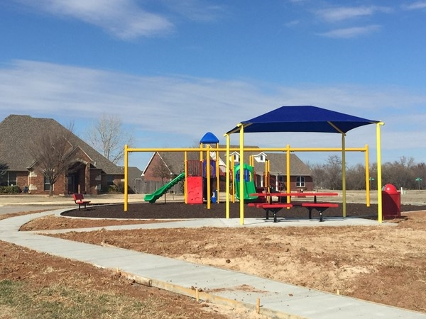 Ready for warm weather and family fun in Mustang Creek! New homes being built now