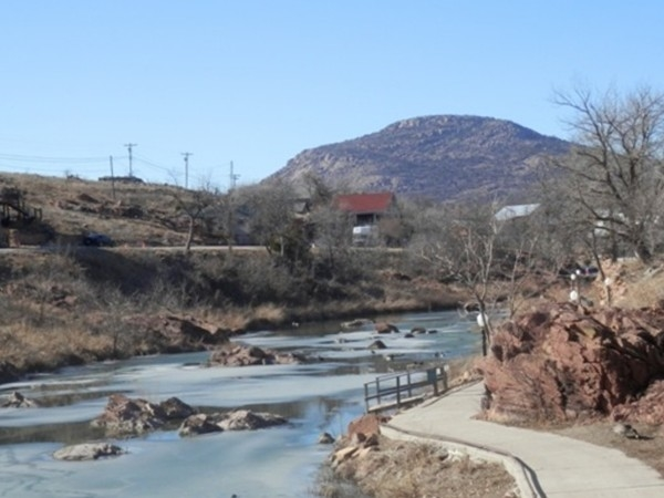 Medicine Park is located in the Wichita Mountains