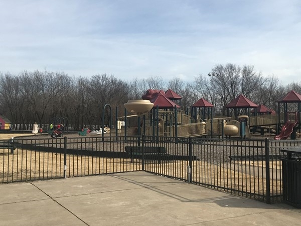One of Owasso's many wonderful parks. It's a gorgeous day in Oklahoma