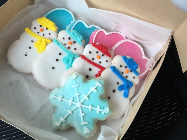 Hands down my favorite sugar cookie! Check out Lynn's Bakery in Skiatook
