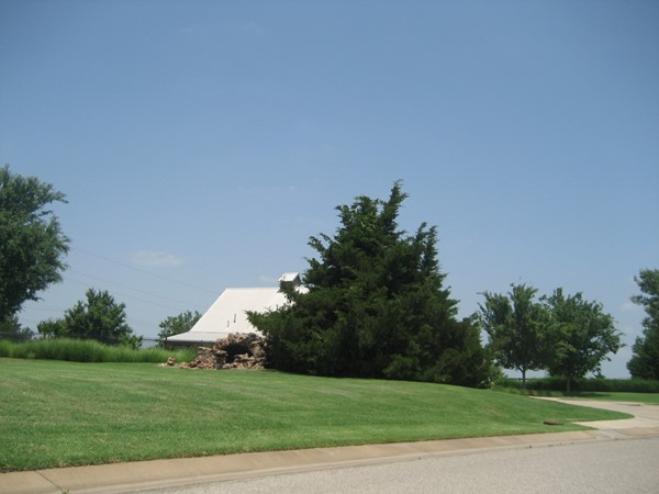 Greenbelt area in Chitwood Farms