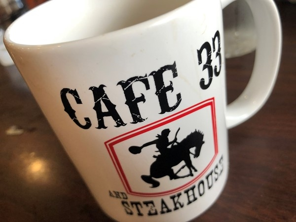 Best cup of coffee and food in Perkins! You must stop here at Cafe 33