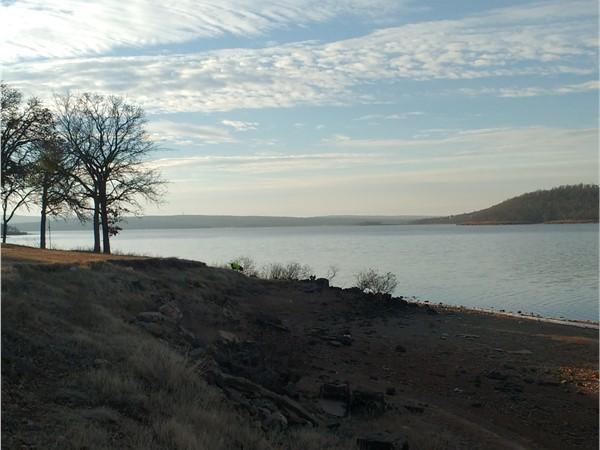 A nice day at Lake Eufaula Arrowhead State Park