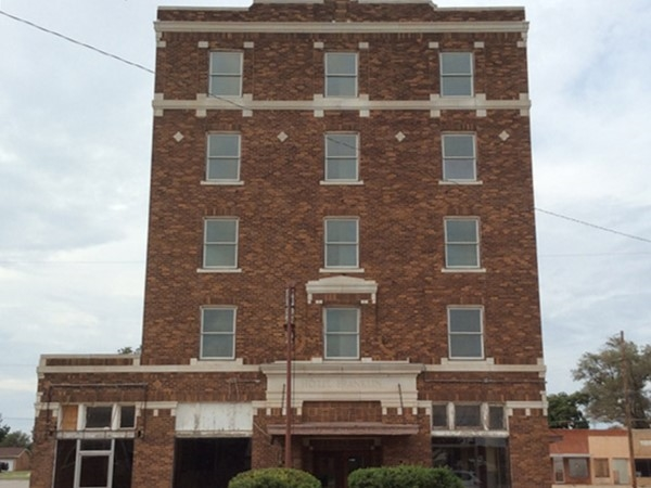 The Hotel Franklin is a Greer County landmark