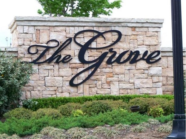 The Grove has several different children's areas, gym's, water features, and amenities