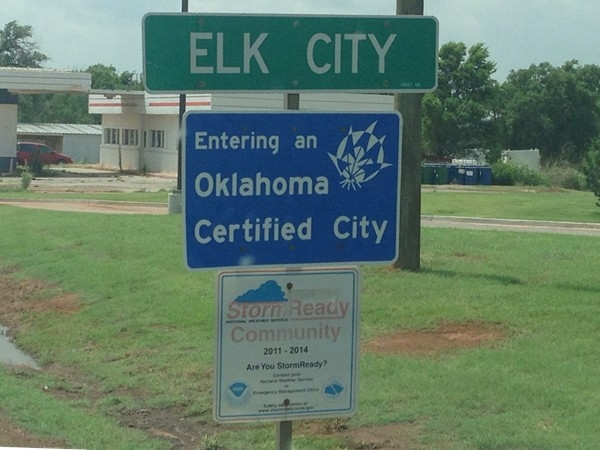 Elk City is proud to be a certified city