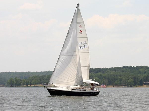 Sailing at Grand Lake