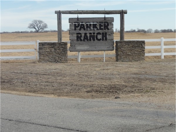 Headquarter to the historic Parker Ranch in Mayes County