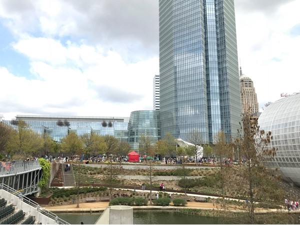Easter celebrations full on in Downtown Oklahoma City
