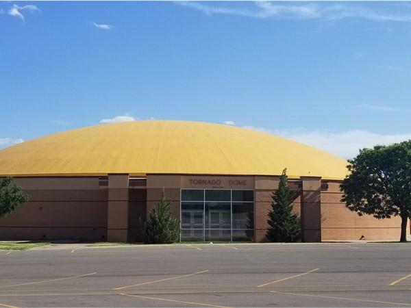 Clinton High School Red Tornado Dome