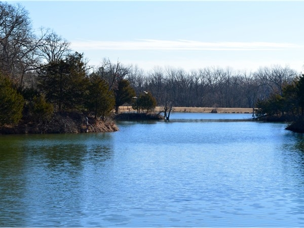 Woodlake I and II subdivisions are located in SW Stillwater and divided by this beautiful lake