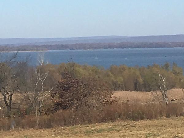 Beautiful view of Kerr Lake in Tamaha, Haskell County