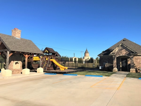 Neighborhood features a pool, playground and a clubhouse